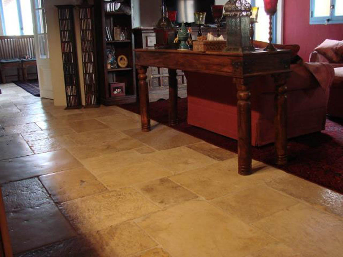 Reclaimed French Limestone Flooring