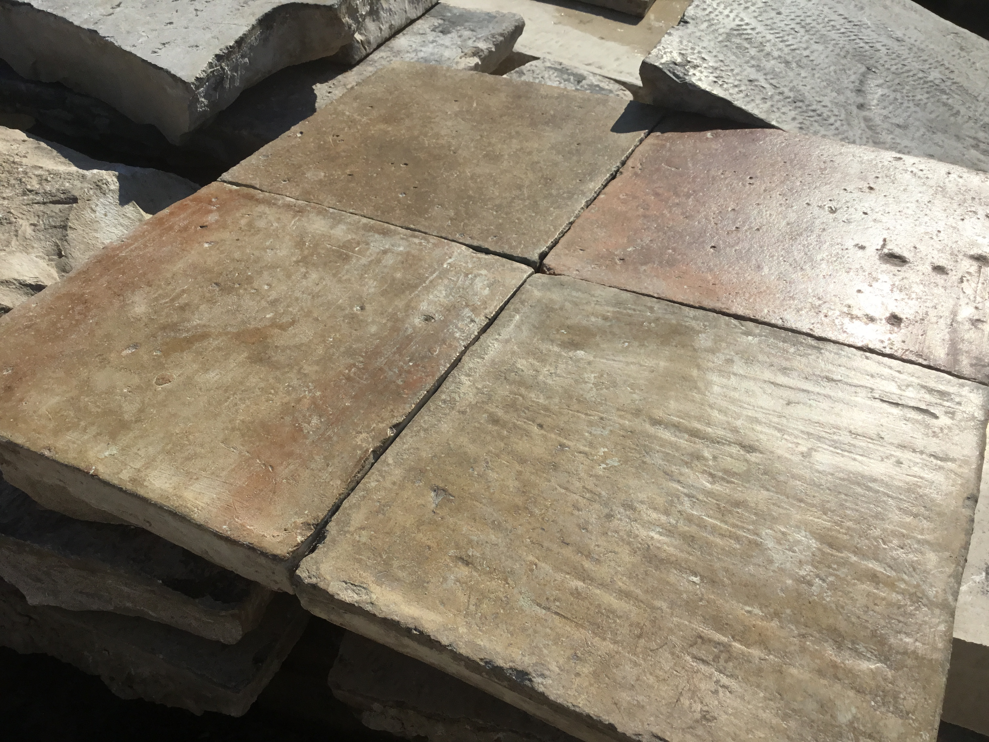 Stock Reclaimed Terracotta tile