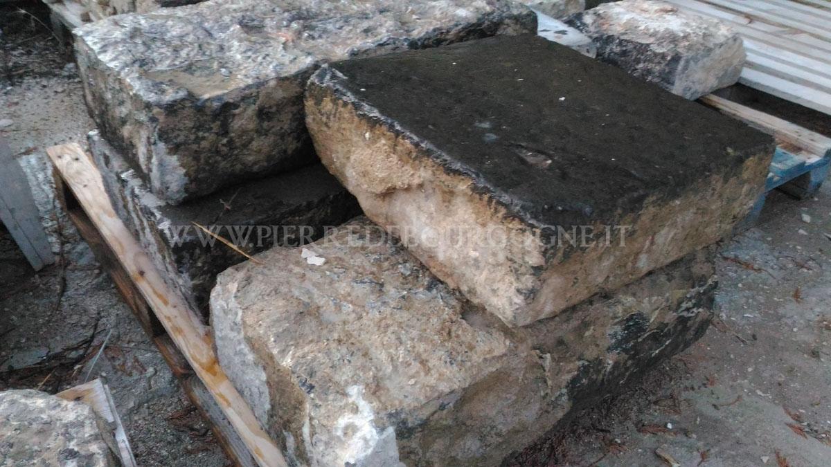 Volcanic stone black stone
