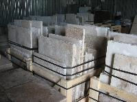 ANCIENT DALLAGE OF RECOVERY STONE OF BOURGOGNE CUT TO 3 CM.(LOT OF 500 sq.m.IN WAREHAUSE).