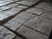 ANCIENT FLOORS IN RECOVERY STONE OF BOURGOGNE AGE OF 1200/1800,CUT A 5 CM.IN PALETT =10,54 M2 (GREAT STOCK 1000 M2 TO DISPOSITION).MATERIAUX ANCIENS,RECLAIMED ANTIQUE LIMESTONE