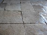 ANCIENT FLOORS OF PROVENCE CUT TO 3 CM. FOR INNER AGE 1200\1800 ORIGINAL.