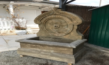 Antique Wall Fountain Style