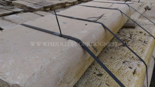 ANTIQUE KERBSTONES IN LIMESTONE